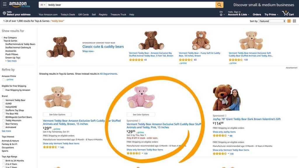 adverteren op amazon